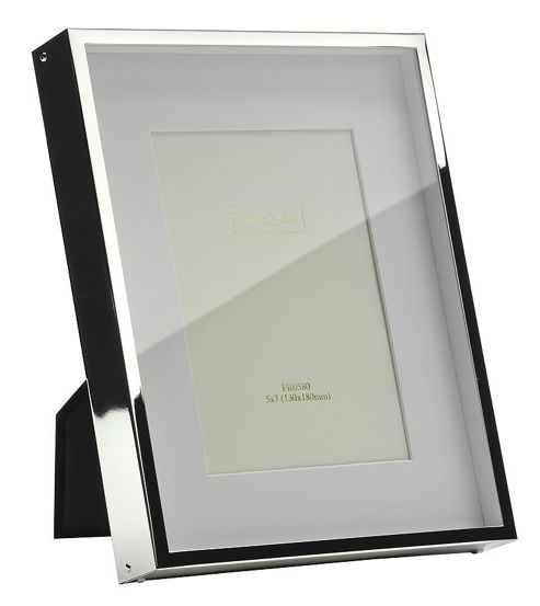 Addison Ross Photo Frame Silver Plate Box Frame - 3 in x 3 in