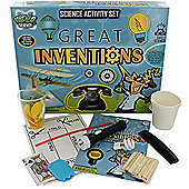 Grafix Weird Science Activity Set Great Inventions