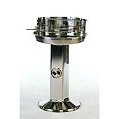 Lifestyle Stainless Steel Pedestal Charcoal Barbeque
