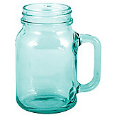 Creative Tops Drinking Jam Jar Glass, Aqua