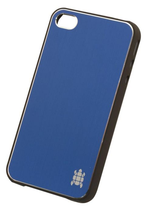 Tortoise™ Hard Case iPhone 4/4S Brushed Metal Midnight Blue