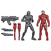 Marvel Avengers Age of Ultron Iron Man Mark 45 Vs. Sub-Ultron 010