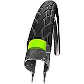 Schwalbe Marathon Tyre: 700c x 23mm Reflex Wired. HS 420, 23-622, Performance Line, GreenGuard