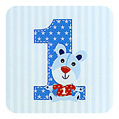 Little Stars Boys 1st Birthday Card