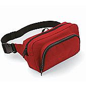 Bagbase 2.5L Organiser Waistpack Bag Red