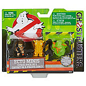 Ghostbusters Abby, Slimer with Hot Dog, and Splitting Ghost Mini Figure (3 Pack)