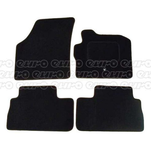 Tailored Car Mat Set (Black) Landrover Freelander 06> (4 Pc)