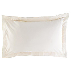 Oxford Pillowcase Twinpack - Cream