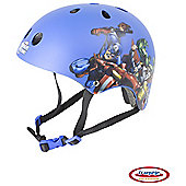 Avengers, Kids' Ramp Helmet, Blue, 53 - 55cm