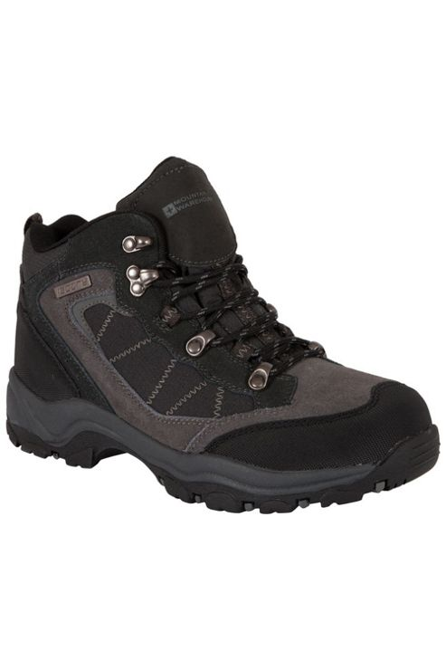 Mountain Warehouse Explorer Womens Ladies Waterproof Leather Walking Hiking Boots