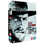 Clint Eastwood Collection - A Fistful Of Dollars/The Good, The Bad And The Ugly/For A Few Dollars More/Hang 'Em High  (DVD Boxset)