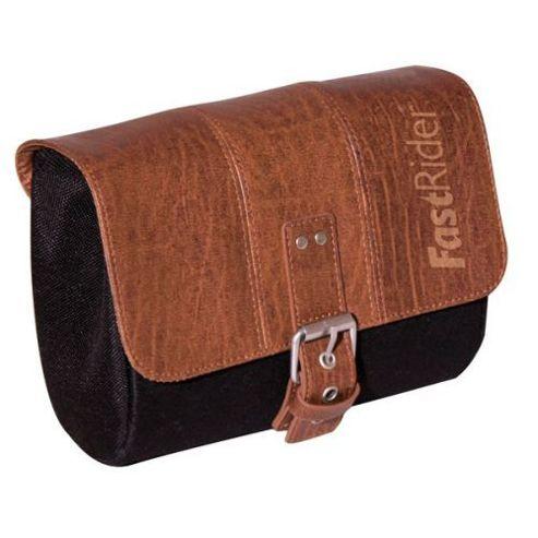 FastRider inchClassicinch Charley Saddlebag in Black/Brown