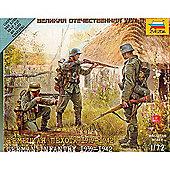 Zvezda - German Infantry 1939-1942 - 1/72 Scale 6105