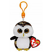 "Ty Beanie Boo Boos 3"" Key Clip - Owliver the Owl"