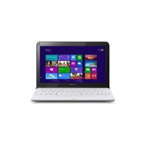 Sony Vaio SVE1513P1E (15.5 inch) Notebook i5 (3230M) 2.60GHz 4GB 750GB DVD WLAN BT Windows 8 (HD Graphics 4000) - White