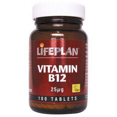 Lifeplan B12 25Mcg Tablets 100 Tablets