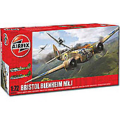 Airfix A04016 Bristol Blenheim Mki Bomber 1:72 Aircraft Model Kit