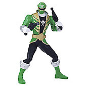 Power Rangers Super Megaforce 16cm Battle Morphin Figure - Green Ranger