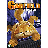 Garfield The Movie DVD