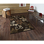 Think Rugs Modena Brown/Beige Rug - 150 cm x 210 cm (4 ft 11 in x 6 ft 11 in)