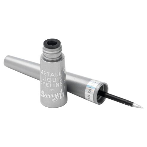 Barry M Metallic Liquid Eyeliner 4 - Silver