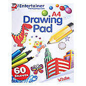 The Entertainer A4 Drawing Pad