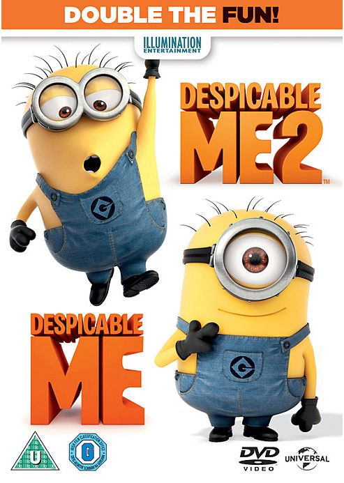 Despicable Me 1 & 2 - (DVD)