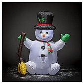 Inflatable Snowman, 4ft