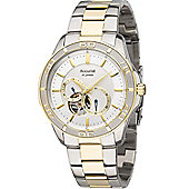 Accurist Gents Automatic 2 Tone Bracelet Watch MB911S