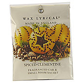 Wax Lyrical Spiced Clementine Scented Sachets