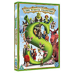 Shrek 1-4 - Complete Collection DVD