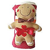 Bizzi Growin Gingerbread Knitted Gift Set