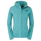 The North Face Ladies Sangro Waterproof Jacket - Green