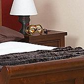 Sweet Dreams Jackdaw 2 Drawer Bedside Table - Mahogany