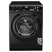 Hotpoint Extra WMXTF942K Washing Machine, 9Kg Wash Load, 1400 RPM Spin, A++ Energy Rating, Black