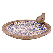 Fallen Fruits Ceramic Bird Bath