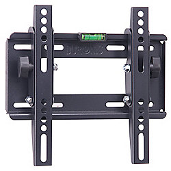 Duronic TVB123S Adjustable Black Wall Bracket