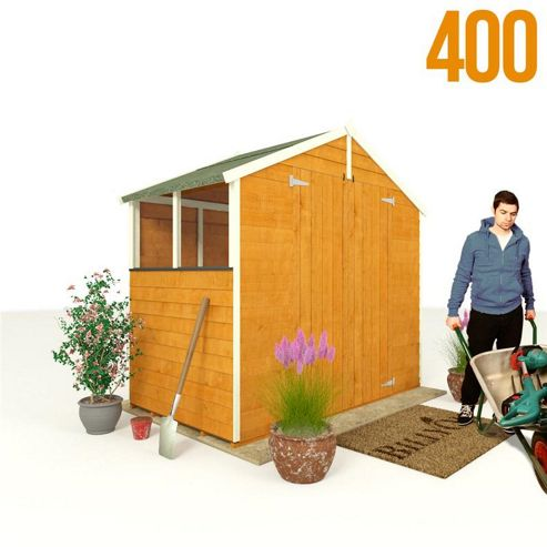 BillyOh 400 4 x 7 Overlap Apex Shed