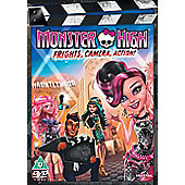 Monster High: Frights, Camera and Action (DVD)