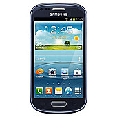 Tesco Mobile Samsung Galaxy SIII Mini Blue