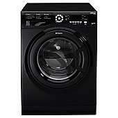 Hotpoint S-Line SWMD10437K  Washing Machine, 10Kg Wash Load, 1400 RPM Spin, A+++ Energy Rating, Black