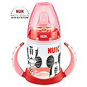 NUK Disney Mickey & Minnie 150ml Learner Bottle - Red.
