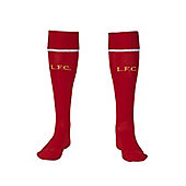 2014-15 Liverpool Home Socks (Red) - Kids - Red