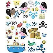 Peppa Pig Wall Stickers - George