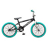 Rooster Big Daddy 20 BMX Black/Turquoise with Spoke Wheels