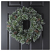 TESCO SPARKLE WREATH 6FT