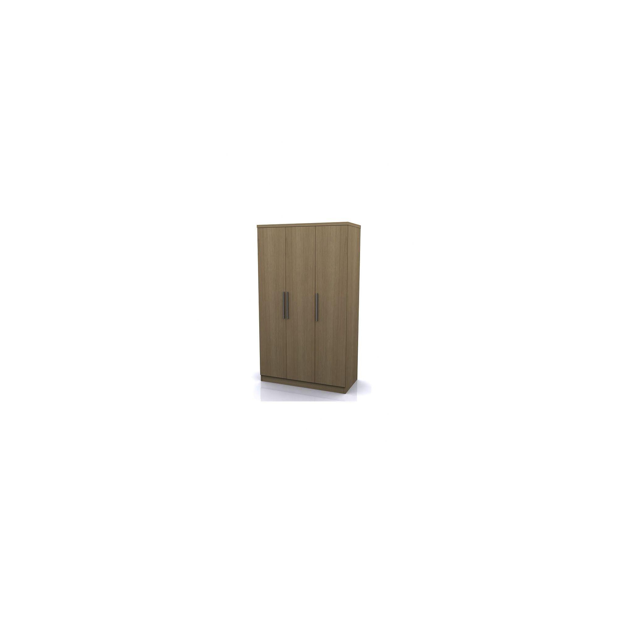 Altruna Manhattan Three Door Robe - Oak at Tesco Direct