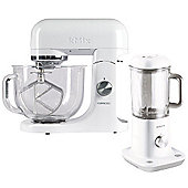 Kenwood kMix Stand Mixer (White) with Matching Jug Blender