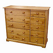 Home Zone Atlantic 10 Drawer Chest