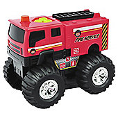 City Response Red Fire Service Truck